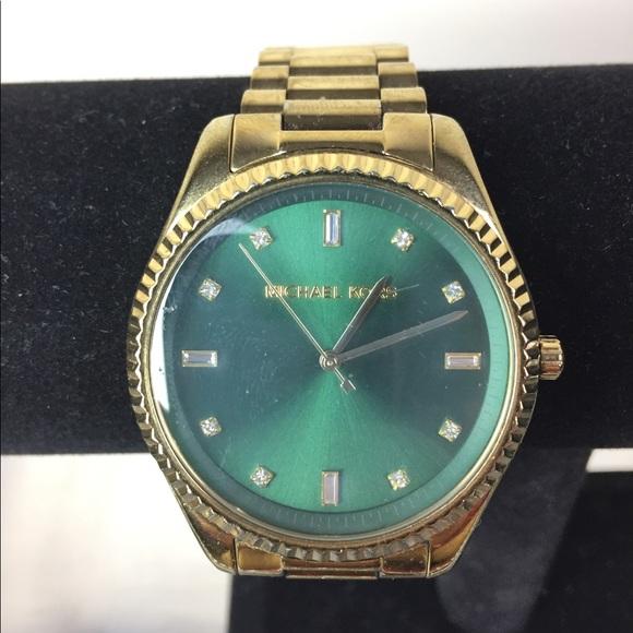 aafec95ae155 Mens michael kors gold plated s steel watch 3226. M 5a4873683a112e1d5919066f